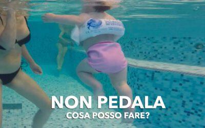 In piscina non pedala: cosa posso fare?