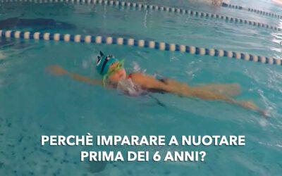 Perché imparare a nuotare prima dei 6 anni?